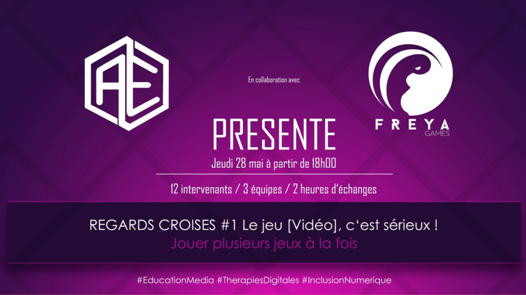 Conference regards croisés Freya Games