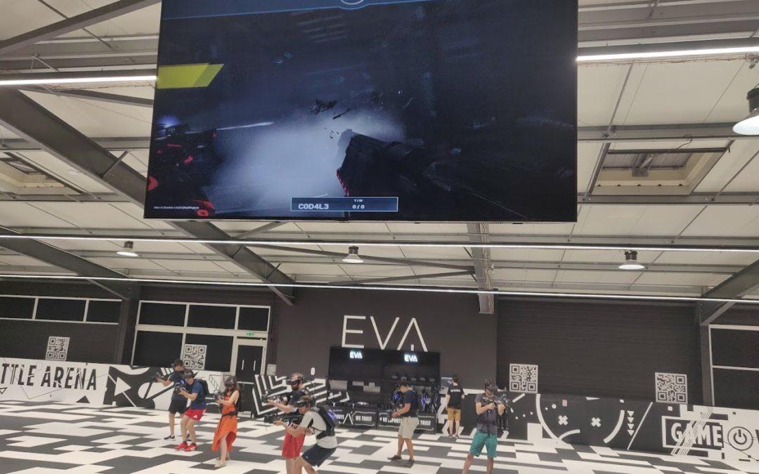 Ouverture de EVA, la salle de réalité virtuelle à Toulouse !